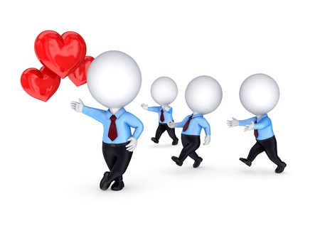 romance strategies: Competition concept