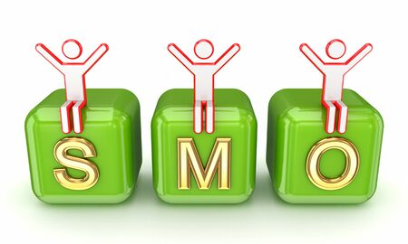 SMO concept  Stock Photo - 14073403