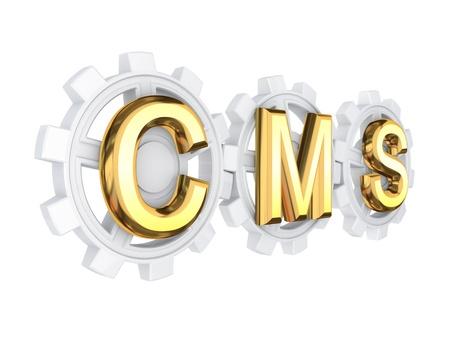 CMS concept  photo