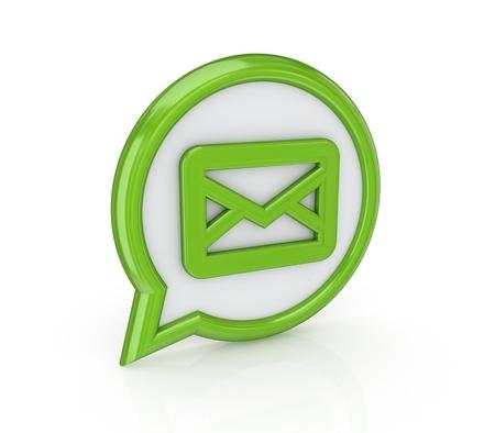 Mail icon Stock Photo - 14072900