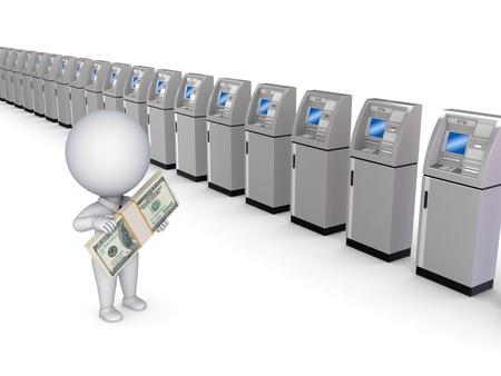 ATM concept  photo