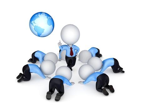 Leadership concept Stock Photo - 14072867