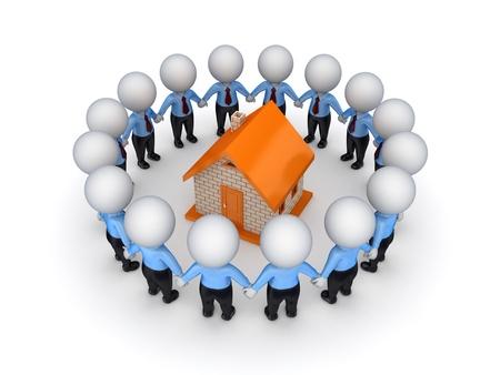 Teamwork concept Stock Photo - 14072897