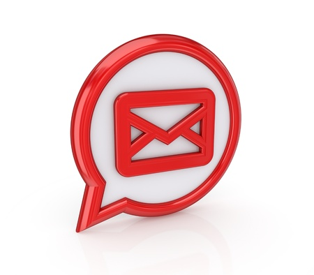 Mail icon Stock Photo - 14073212