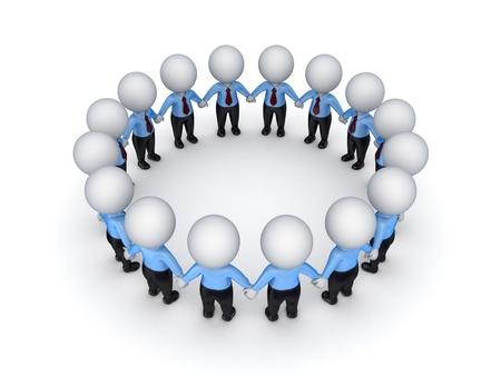 pessoas: Teamwork concept Imagens