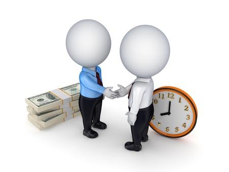 job deadline: Contract concept