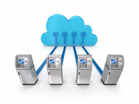 Cloud computing concept  Stock Photo - 14073547