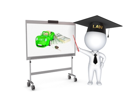 legally: Lawyer  Stock Photo