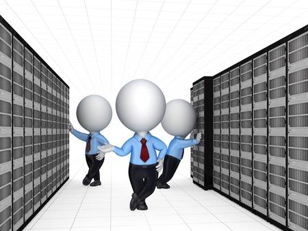usługodawcy: 3d small people i serwerów