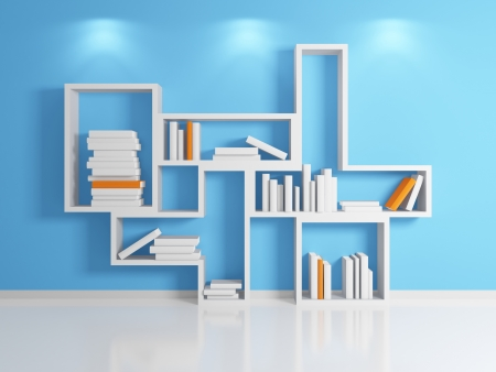 Modern shelf Stock Photo - 14097525