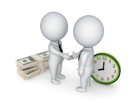 stipt: Contract begrip Stockfoto