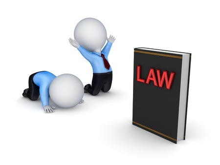 Law concept  Stock Photo - 14097380