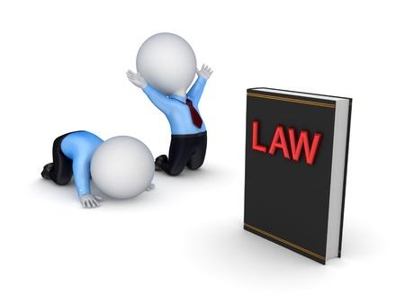 punish: Law concept