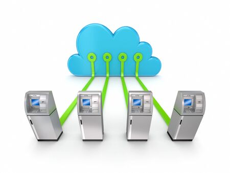 Cloud computing concept  Stock Photo - 14097456