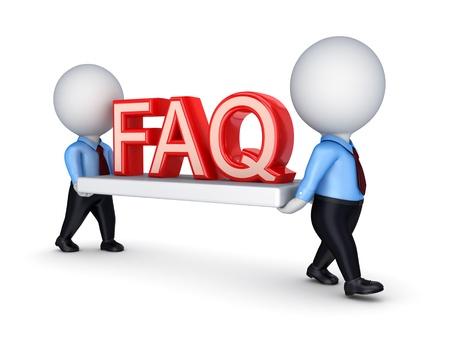 FAQ concept  Stock Photo - 14380039