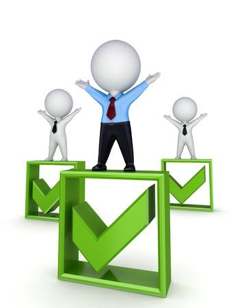 best choice: Winner concept  Stock Photo