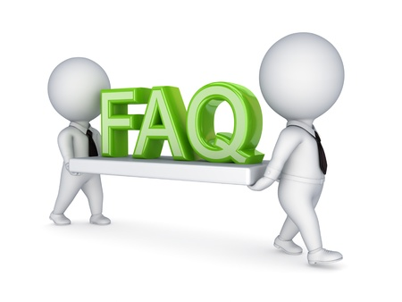 FAQ concept  Stock Photo - 14452040