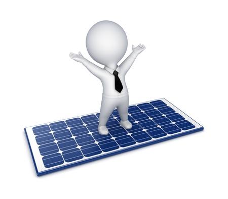 Solar energy concept  photo