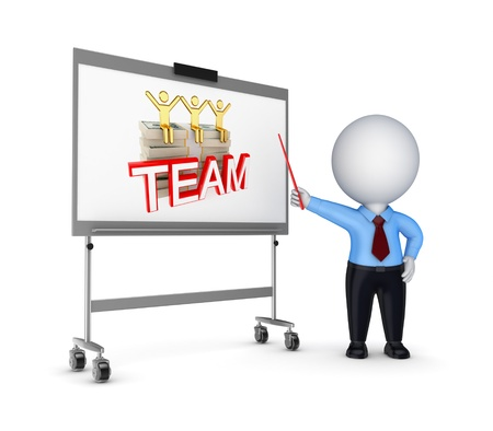 staff training: Presentation concept