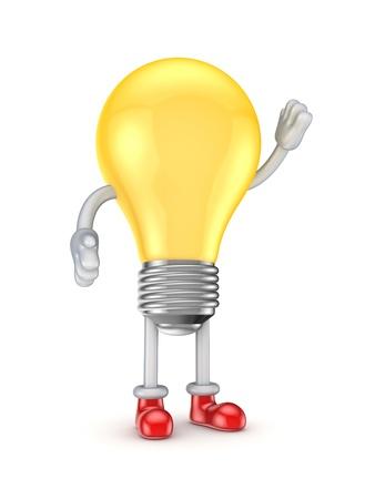 personnage: Symbole stylisé idée Banque d'images