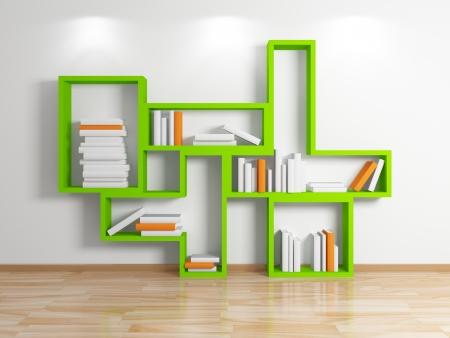 Modern shelf Stock Photo - 15536025