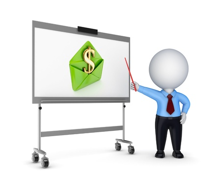 demonstrate: Business training concept  Stock Photo