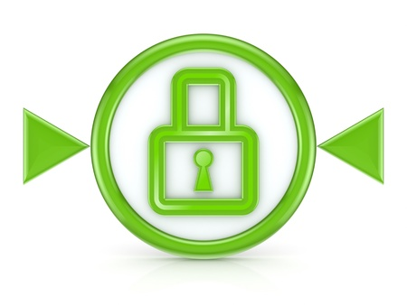 secure files: Lock icon