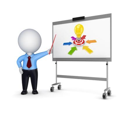 Business training concept  photo