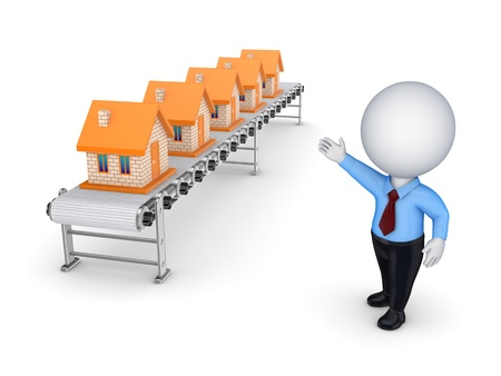 Real estate concept  Stock Photo - 15614425