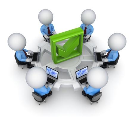 Teamwork concept Stock Photo - 15614524