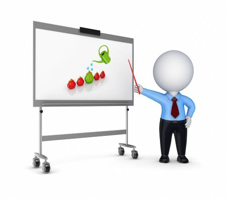 Business training concept  Stock Photo