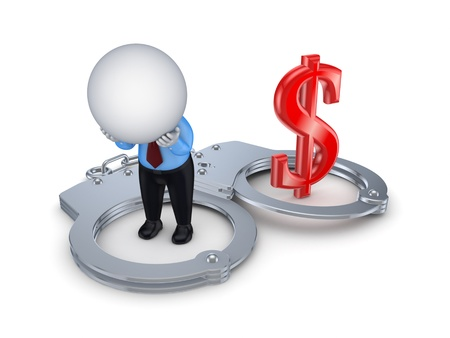 Financial crime concept  Stock Photo - 15614367
