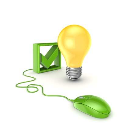 Idea concept Stock Photo - 15614293