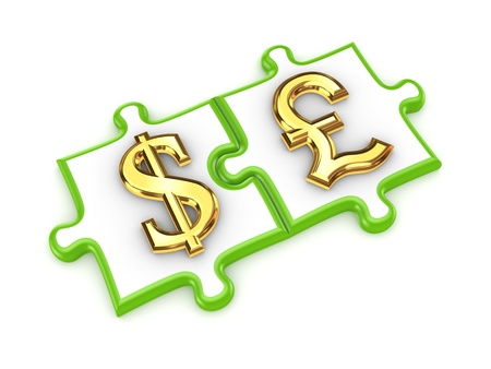 pound sterling: Puzzles with dollar and pound sterling symbols
