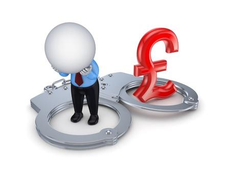 Financial crime concept Stock Photo - 15649362