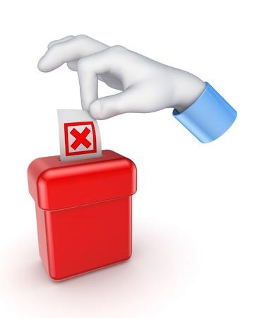 Voting concept Stock Photo - 15649371
