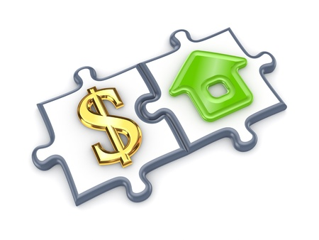 merged: Merged puzzles with dollar and home symbol