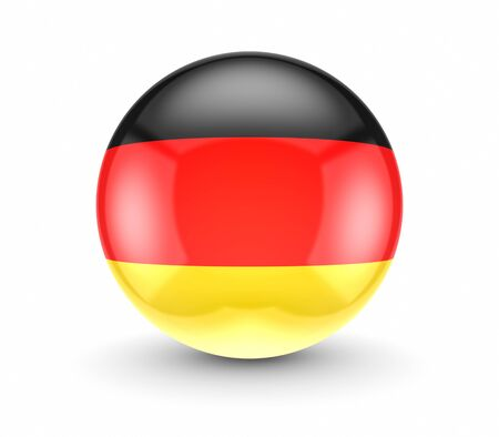 German flag icon  photo