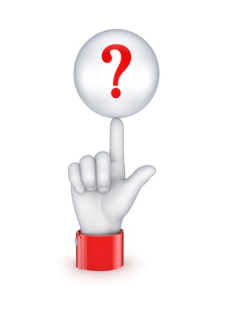 Question symbol Stock Photo - 15623493
