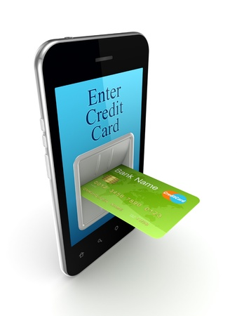 Online payments concept Stock Photo - 15667187