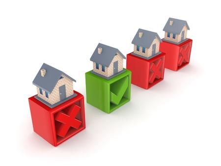 Real estate concept Stock Photo - 15667066