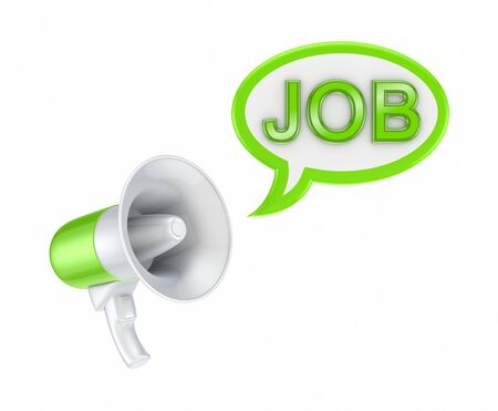 speaking trumpet: HR concept