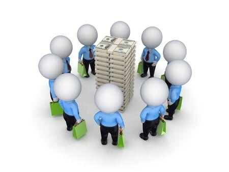Teamwork concept Stock Photo - 17535484
