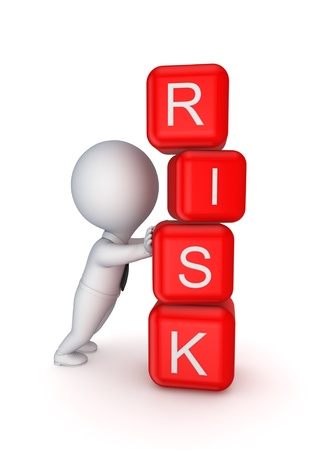 financial risk: Risk concept  Stock Photo