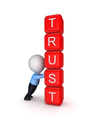 Trust concept Stock Photo - 17816687