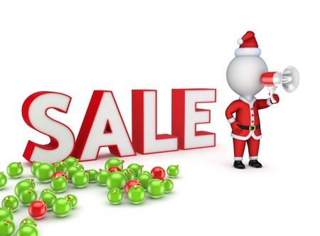Christmas sale concept  Stock Photo - 17866489