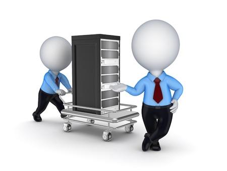 pushcart: Server on a pushcart