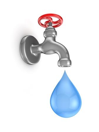 Cromed tap