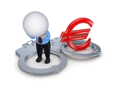 Financial crime concept  Stock Photo - 17866942