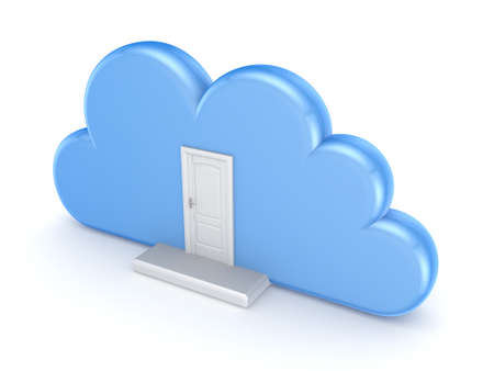 Cloud computing concept  photo
